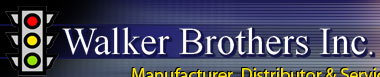 Walker Brothers - Manufacturer, Distributor & Service of Traffic Control Equipment